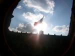 Mega bandera del zocalo del D.F. méxico