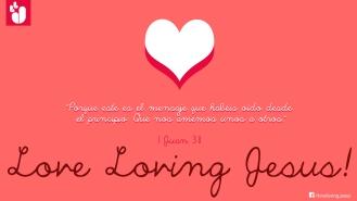 Amaos los unos a los otros