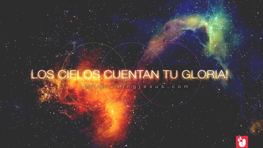 wallpaper los cielos cuentan tu Gloria