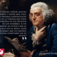 Benjamin Franklin, Sal en su tierra.